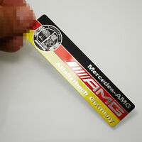 1 Pcs High Quality Alloy AMG Badge Decal Emblems Sticker Universal Fit All Type