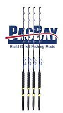 Xcaliber Marine Set (4) Tournament Series 80-130lb Trolling Rod w/Pac Bay Guides
