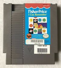 Fisher-Price: I Can Remember (Nintendo, 1990) NES *Cleaned & Tested*