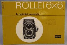 Rollei 6X6 Le ragioni  di una scelta Condizioni ottime