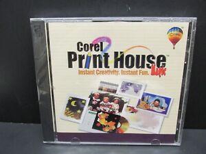 Corel Print House Magic, PC, 2 - CD-ROM'S, Windows 95 / 98, 1999, New & Sealed