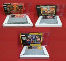 Final Fight 2 avec Détail Boite Pal Eur Version Snes Super Nintendo Video Game