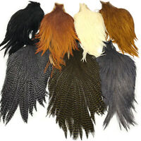 KEOUGH TYER'S GRADE CAPE - Rooster Neck Fly Tying Hackle Feathers Hair Extension