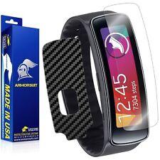 ArmorSuit MilitaryShield Samsung Gear Fit Screen Protector + Black Carbon Skin