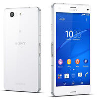 Sony Ericssion Xperia Z3 Compact D5803 16GB 20.7MP 4G LTE Unlocked Móvile Blanco