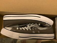 1J794C Converse Chuck Taylor Classic All Star Lo Low Tops Canvas New Size 9 Grey