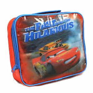 """Disney Cars """"Fast & The Hilarious"""" Lunch Bag"""