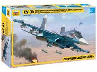 Zvezda 7298 Su-34 Multi-Functional Fighter-Bomber Model Kit HIT