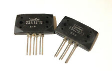 2SA1215 + 2SC2921 Audio High Power Transistors By SANKEN