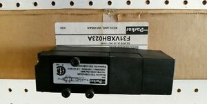PARKER F31VXBH023A  SOLENOID VALVE 2 POSITION 120V 60 *NEW IN A BOX*