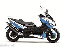 Kit déco Cooper Kutvek blanc/bleu Yamaha T-MAX 500 de 2007 à 2011 3YM040124