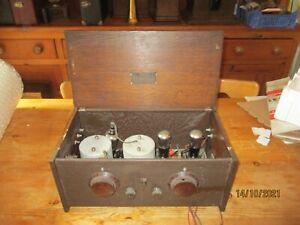 A very good  early valve  radio wireless