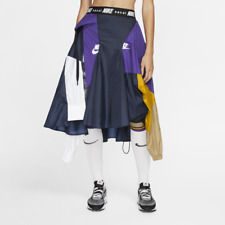 Nike Nikelab X Sacai Womens Skirt Kleid CD6299 011 Black Obsidian S / M / L