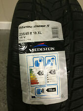 1 New 235 45 18 Vredestein Wintrac Xtreme S Snow Tire