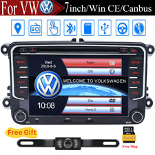 7'' Car Stereo Radio DVD CD Player GPS Navi CANBUS For VW VOLKSWAGEN SEAT SKODA