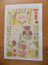"Original Book Print Grammar of Ornament Owen Jones 13x9"" Leaves From Nature 8"