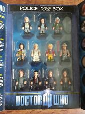 Dr Who 11 Eleven Doctors Mini Micro Figures Lego Character Building Set Tardis