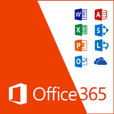 Microsoft Office 365 2016 5 Geräte PC/MAC/SMARTPHONE Professional Plus