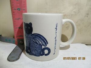 TAYLOR & NG LE CHAT AILE (WINGED CAT)  MUG - DATED 1979 , MADE IN JAPAN