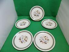 Wood & Sons Alpine White Salad Plates x 5