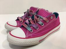 40b4297406e1 Converse All Star Chuck Taylor Girls  Low Top Sneakers Shoes Youth Size 2