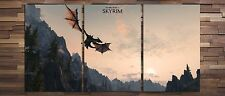 Skyrim Poster Sky Dragon set of 3 Posters 13x19 inches High Quality 002