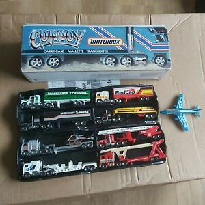 Matchbox Convoy Carry Case In Good Condition