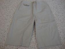 Women's TALBOTS khaki stretch shorts, 4