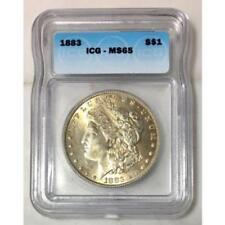 1883 Morgan Dollar ICG MS65 #270391