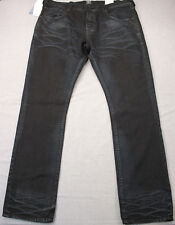 PRPS Demon Mens Enzyme Blue Faded Wash Slim Fit Straight Jeans NWT 40 x 34 $325