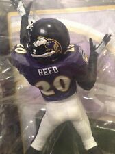 NFL BALTIMORE RAVENS ED REED / McFARLANES SERIES 24 / VERY LOW No. #