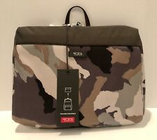 Tumi Packable Backpack With Matching Folding Card Case Desert Camo