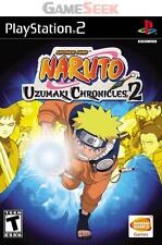 NARUTO UZUMAKI CHRONICLES 2 - PLAYSTATION PS2 BRAND NEW FREE DELIVERY