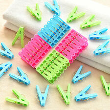 20 Pieces  Clothes Pins  Convenient  Spring Clamp Style  Clothespins
