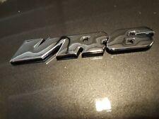 ÉCUSSON BADGE EMBLÈME MÉTAL CHROME GOLF VR6 PASSAT VENTO CORRADO VR6 SWAP VR6..