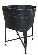 Metal Laundry Tub on Castors