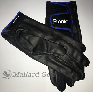 Men's Etonic Stabalizer Fit Rain Golf Gloves 1 Pair [S, M, ML, L, XL, 2XL] Black