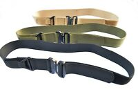 "Heavy Duty Tactical Gun Belt militar Metal Lock Buckle Utility Adjustable 28-42"""