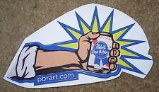 PABST BLUE RIBBON PBR ART POW! Arm STICKER decal craft beer brewery brewing