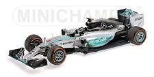 Mercedes Amg W06 Hybrid Nico Rosberg Japanese Gp 2015 Minichamps 1:43 410150206