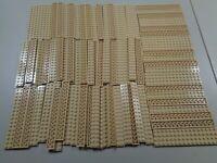Estate Lego Huge Bulk Lot 92 Tan 2x16 Plates Castle Star Wars City Modular MOC