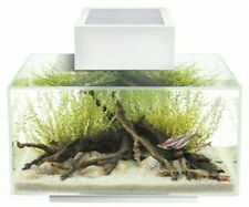 Fluval Edge II 6 Gal Aquarium White 21 Bulb LED