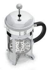 French Press Coffee Maker Tea Pot Plunger Glass Stainless Steel |1 liter - 34 oz