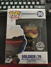 Funko pop Soldier 76 Gold exclusive Blizzard