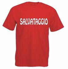 T-SHIRT MAGLIA SALVATAGGIO BAGNINO  ASSISTENTE BAGNANTI LIDO MARINA SPIAGGIA