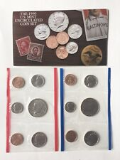5 Us Mint Uncirculated Coin Sets for years 1990, 1991, 1992, 1993 and 1994