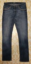 Levi's Juniors Denim Blue Jeans Skinny Adjustable Pants Girls Size 14