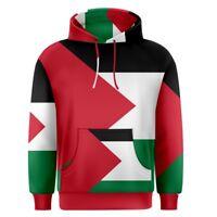 Palestine Palestinian flag Men's Pullover Hoodie S,M,L,XL,2XL,3XL Free Shipping