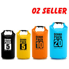 5/10/20L Waterproof Ocean Pack Storage Carry Bag Backpack Pouch Boat Fish Kayak