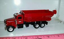1/64 ERTL farm toy custom case ih Peterbilt straight truck fertilizer lime wagon